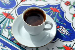 A cup of turkish coffee Royalty Free Stock Photography