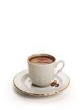 Cup of Turkish coffee with clipping path Stock Images