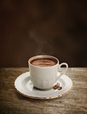 Cup of Turkish coffee with clipping path Royalty Free Stock Image