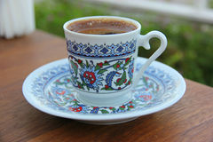 The cup of turkish coffee Royalty Free Stock Photos