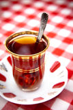 Cup of Turkish Tea Royalty Free Stock Photos