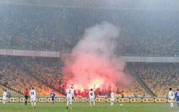 Cup of Ukraine: FC Dynamo Kyiv v Zorya Luhansk in Kiev Royalty Free Stock Photos
