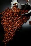 Cup und Kaffee Lizenzfreies Stockbild