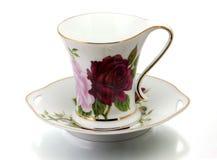 Cup und Saucer Lizenzfreie Stockfotografie