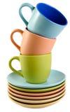 Cup und Teller Lizenzfreie Stockfotografie