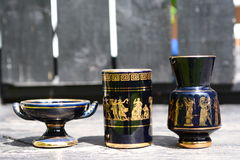 Cup and a urn Royalty Free Stock Images