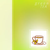 Cup Vector hand drawn background Stock Photos