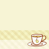 Cup Vector hand drawn background Royalty Free Stock Photos