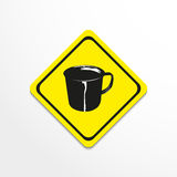 Cup. Vector illustration. Royalty Free Stock Photos