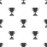 Cup, vector seamless pattern. Editable can be used for web page backgrounds, pattern fills Stock Photo