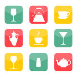 Cup Vectors Set Royalty Free Stock Photo