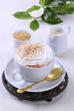 Cup of Vienna coffee Royalty Free Stock Images
