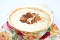Cup von Cappucino Stockfotografie