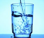 Cup of water Stock Photos