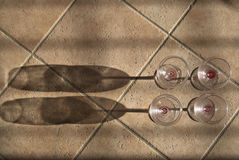 Cup Wein Stockfotografie