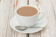Cup of white coffee Royalty Free Stock Photo