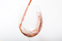 Cup of wine Stock Image