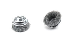 Cup wire brush Stock Image