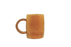 Cup Wood. Coffeecup cupwood cup cupIsolated cuponce cupwater cuptree glass Royalty Free Stock Images