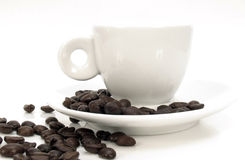 cup2浓咖啡 免版税库存照片