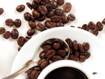 cup3浓咖啡 库存照片