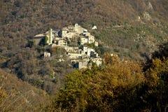 Cupaello dichtbij Rieti, Italië Royalty-vrije Stock Fotografie