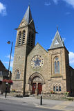 Cupar施洗约翰教堂, Bonnygate, Cupar,鼓笛 免版税库存照片
