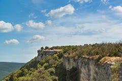 Cupations-Hochebene der Krimberge und des Tal ashlama-Dere Stockbilder