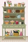 Cupboard stock illustration