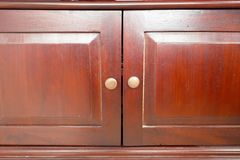 Cupboard doors Royalty Free Stock Photo