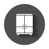 Cupboard icon. Stock Photo