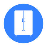 Cupboard icon of vector illustration for web and mobile. Design Royalty Free Stock Photo