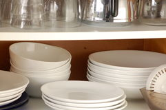 Cupboard kitchen  Royalty Free Stock Photos