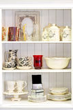 Cupboard white Royalty Free Stock Photos