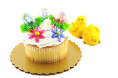 cupcake άνοιξη Στοκ εικόνες με δικαίωμα ελεύθερης χρήσης