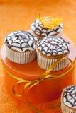 cupcake αποκριές Στοκ φωτογραφία με δικαίωμα ελεύθερης χρήσης