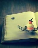 cupcake αποκριές Στοκ Εικόνες