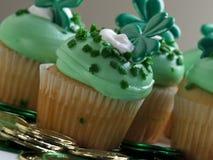 cupcake ημέρα Πάτρικ s ST Στοκ εικόνες με δικαίωμα ελεύθερης χρήσης