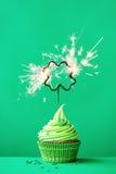 cupcake ημέρα Πάτρικ s ST Στοκ Εικόνες