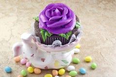 cupcake Πάσχα Στοκ Φωτογραφία