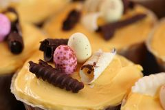 cupcake Πάσχα Στοκ εικόνα με δικαίωμα ελεύθερης χρήσης