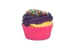 cupcake παγωμένος στοκ φωτογραφία με δικαίωμα ελεύθερης χρήσης