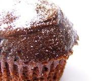 cupcake που αφήνεται σοκολάτα Στοκ φωτογραφία με δικαίωμα ελεύθερης χρήσης