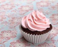cupcake ροζ Στοκ Φωτογραφίες