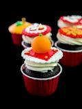 Cupcake στο κινεζικό θέμα Στοκ φωτογραφία με δικαίωμα ελεύθερης χρήσης