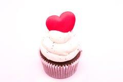 Cupcake της αγάπης Στοκ Φωτογραφίες