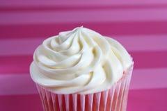 cupcake φράουλα Στοκ Εικόνα
