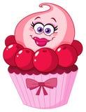 cupcake χαριτωμένος διανυσματική απεικόνιση