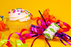 Cupcake. Cpcake and Birthday Related Items Stock Photography
