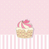 Cupcake. Royalty Free Stock Photo